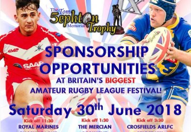 Saturday 30th June -Amateur Rugby League Festival