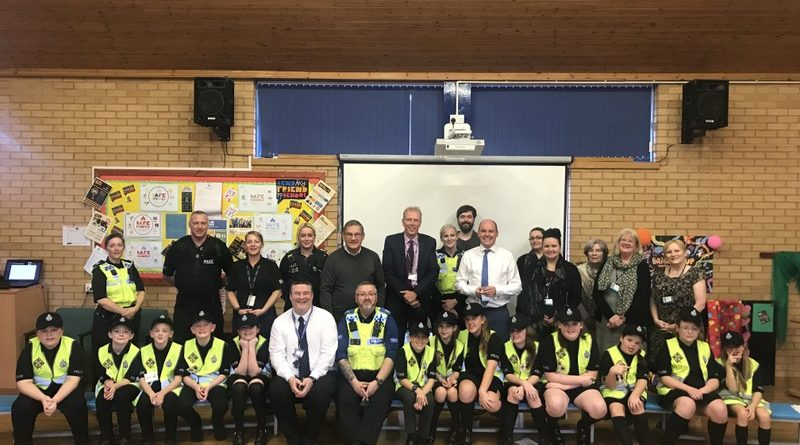 Cheshire Constabulary's youngest recruits put their questions to local leaders
