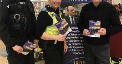 Cheshire police commissioner hails unprecedented level of feedback in funding consultation