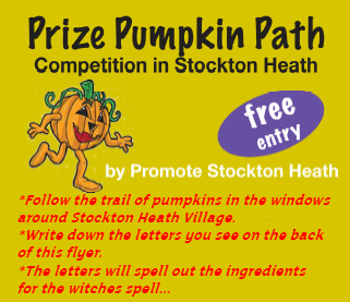 Pumkin hunt. Stockton Heath