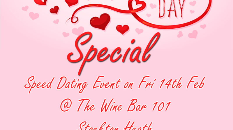 valentines day special, The Wine Bar, Stockton Heath