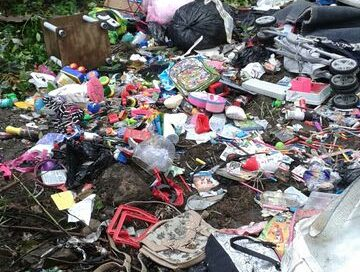 Facebook fly-tipper fined