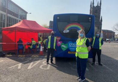 Vaccination bus launches in Warrington