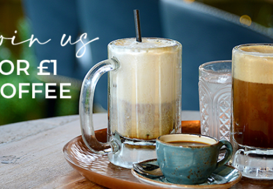 £1 COFFEE 18TH – 22ND OCTOBER!